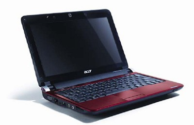 Aspire one 10.1` Netbook PC - Red (AOD150-1920)