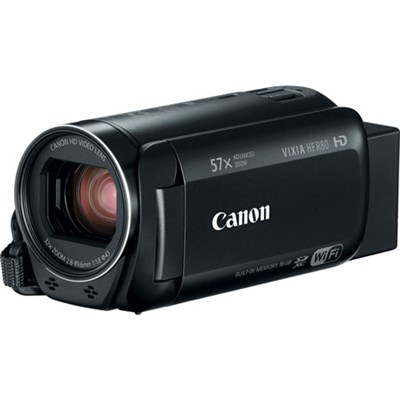 VIXIA HF R80 Full HD CMOS 57x Zoom Built-in Wi-Fi Black Camcorder