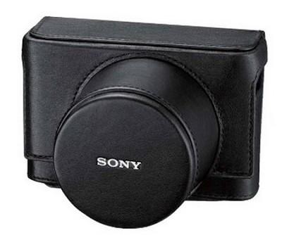 LCJRXB/B Genuine leather jacket case for the Sony DSC-RX1/B
