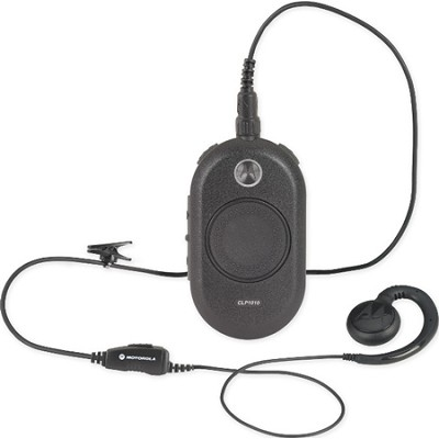 CLP1010 On-Site 1 Channel Two-Way Business Radio - Black