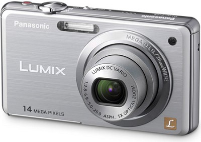 DMC-FH3S LUMIX 14.1 Megapixel Digital Camera (Silver)