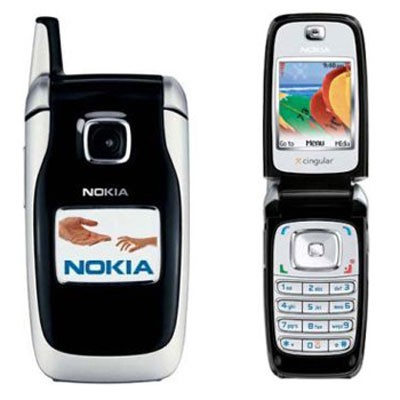Nokia 6102 Cell phone with digital camera / FM radio 4.6 MB -Unlocked GSM