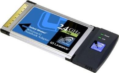 Wireless-G Notebook Adapter - OPEN BOX