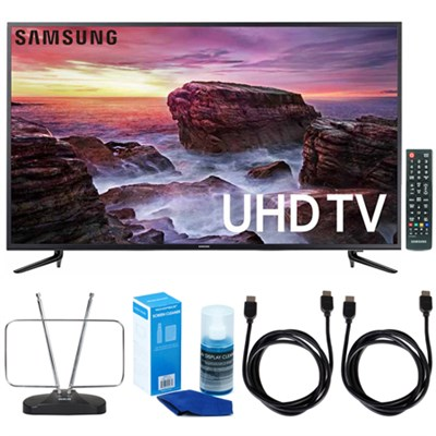 58` Smart MU6100 Series LED 4K UHD TV w/ Wi-Fi + TV Cut The Cord Bundle