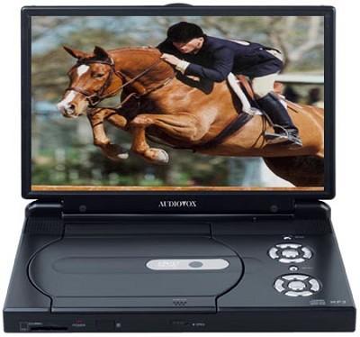10.2` Slim Line Portable DVD Player
