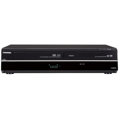 DVR-620 - Combination DVD/VCR Player & Recorder w/ 1080p Upconversion
