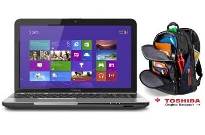 Satellite 15.6` Touchscreen C55T-A5350 Notebook Intel Core i3-3110M Value Bundle