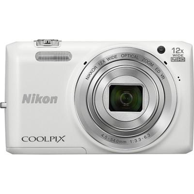 COOLPIX S6800 16MP, 1080P Wi-Fi Digital Camera w/ 12x Zoom - Factory Refurbished