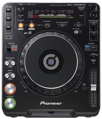 CDJ-1000MK3  Professional CD and Mp3 Turntable
