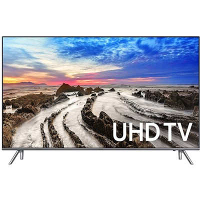 UN55MU8000FXZA 55` 4K Ultra HD Smart LED TV (2017 Model) - Refurbished