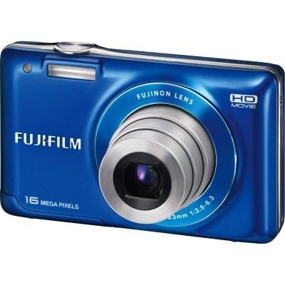 Finepix JX580 16MP Digital Camera with 5x Optical Zoom Lens  (Blue)