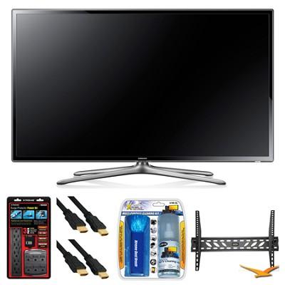 UN50F6300 50` 120hz 1080p WiFi LED Slim Smart HDTV Wall Mount Bundle
