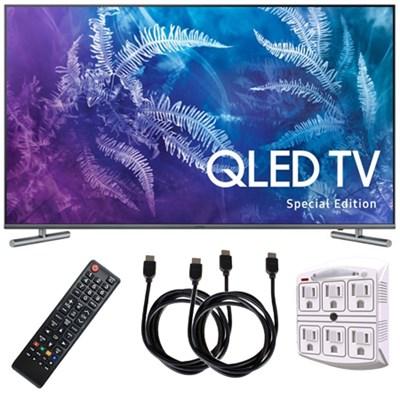 QN49Q6FAMFXZA Special Edition 49` Class Q6F QLED 4K TV (2017) w/ HDMI Kit