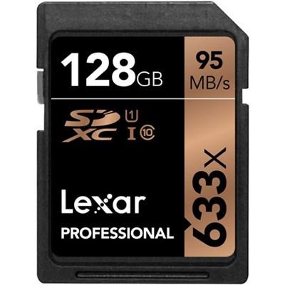 Professional 633x 128GB USH-1 Class 10 SDXC Memory Card