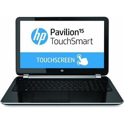 Pavilion TouchSmart 15.6` 15-n220us Notebook PC - AMD Quad-Core A6-5200 Proc.
