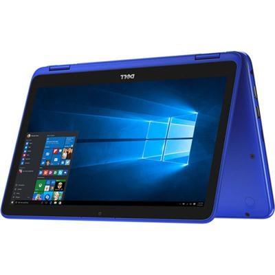 Inspiron i3179 11.6` HD 2-IN-1 Laptop, 7th Gen Intel m3-7Y30, 4GBRAM, 500GB Blue