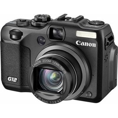 Powershot G12 10 Megapixel Digital Camera w/ HD Video