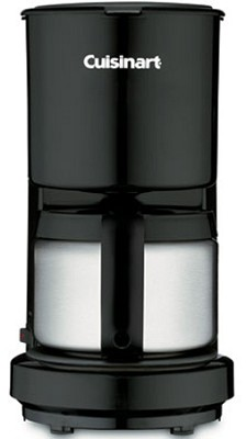 DCC-450 4-Cup Coffeemaker with Stainless-Steel Carafe