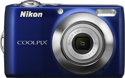 COOLPIX L22 Digital Camera (Blue)