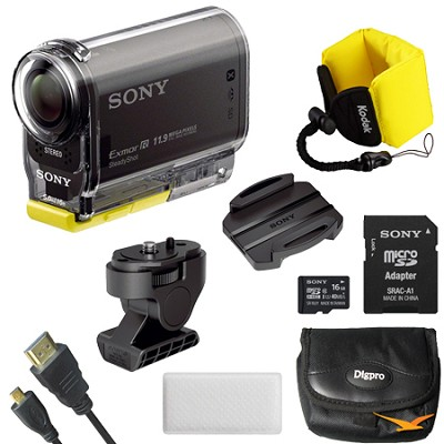 HDR-AS30V High Definition POV Action Video Camera Mount Bundle