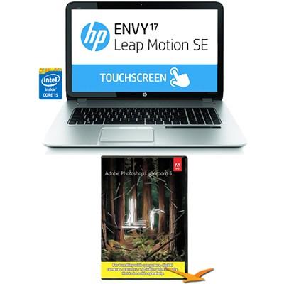 Envy TouchSmart 17.3` 17-j160nr Leap Motion SE Notebook Photoshop Bundle