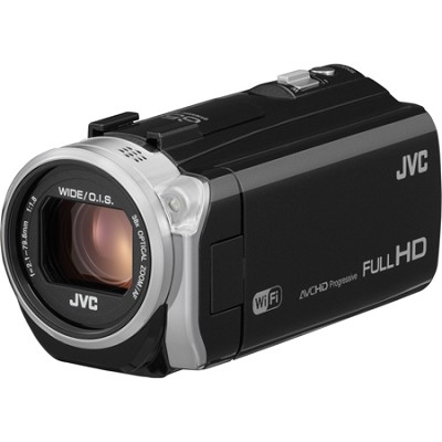GZ-EX555BUS - HD Everio Camcorder 38x Zoom w/ 16GB Built-in Flash Memory (Black)