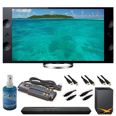 XBR-55X900A 55` 4K Ultra HDTV and Sound Bar Bundle