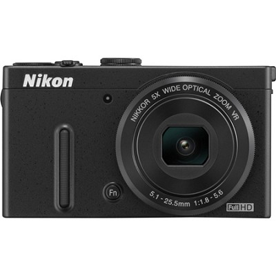 COOLPIX P330 12.2MP 3.0` LCD Black Digital Camera with 1080p HD Video