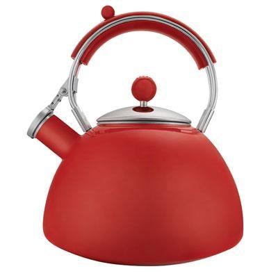 Journey 2.3-Quart Red Teakettle - 2503-1017