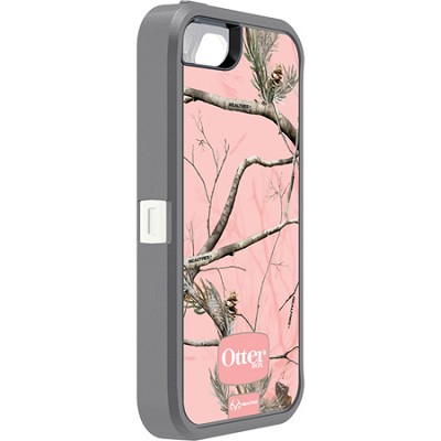 Defender Case for iPhone 5 w/ Realtree Camo (AP Pink)