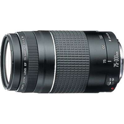 EF 75-300mm  F4-5.6 III Telephoto Zoom Lens
