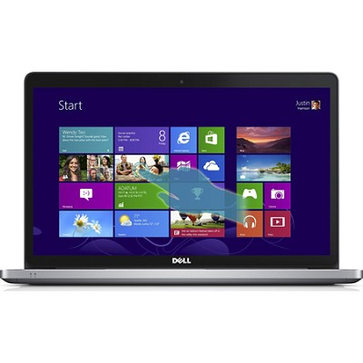 Inspiron 17 7000 17-7737 17.3` Touchscreen LED (TrueLife) Notebook - Silver