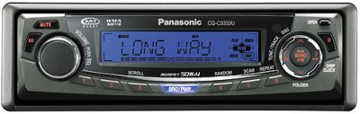 CQ-C3333U In-Dash Receiver w/CD player and  iPod-ready MP3/WMA playback
