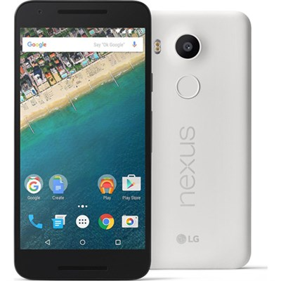H790 Google Nexus 5X 16GB Unlocked Smartphone - Quartz White - OPEN BOX