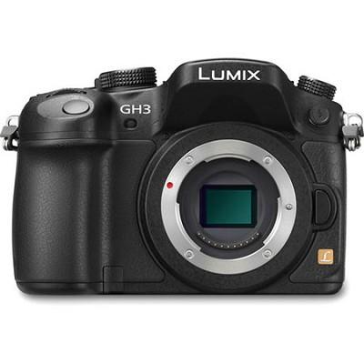LUMIX GH3 16MP Digital Single Lens Mirrorless Camera Body with 1080p HD Video