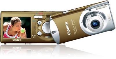 Powershot SD30 Digital ELPH Camera (Glamour Gold)
