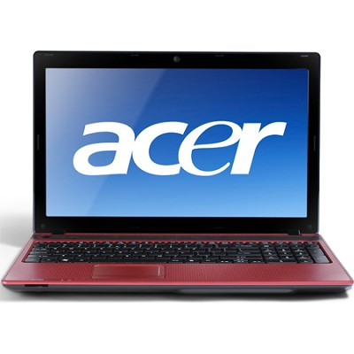 Aspire 15.6` Notebook Computer - Mesh Red (AS5336-2754)