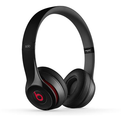 Dr. Dre Solo2 Wireless On-Ear Headphones (Black) - OPEN BOX