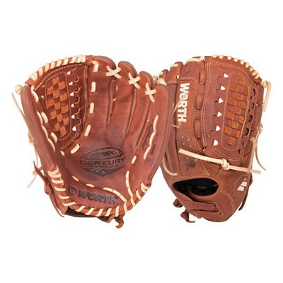Fastpitch Softball Century Series 12.5-inch Softball Glove (Left-Hand Throw)