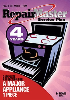 Repair Master TOTAL five (5) Year protection Warranty for Appliances*A-RMAP5*