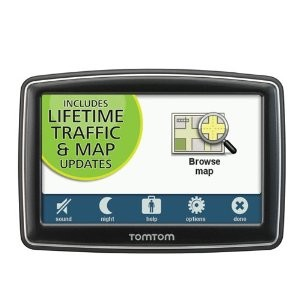 XL 350TM 4.3 inch GPS with Lifetime Traffic and Map Updates