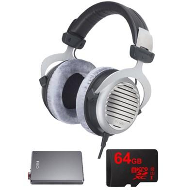 DT 990 Premium Headphones 32 OHM w/ FiiO A5 Amplifier Bundle