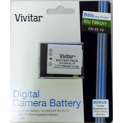 700 mah replacement battery for Nikon Coolpix S4300, S5200, S6500