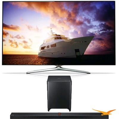 UN55F7500 55 inch 1080p 240hz 3D Smart Wifi TV + HW-F850 Soundbar Bundle