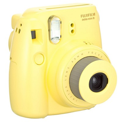 Instax 8 Color Instax Mini 8 Instant Camera - Yellow