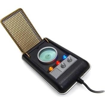 USB Startrek Communicator Accsnet phone with sounds Lights