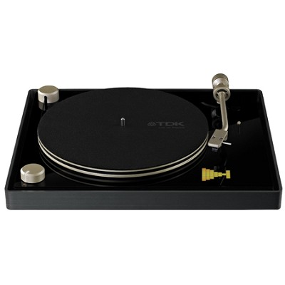 Life on Record USB Belt Drive Turntable (TVT2002BLK)