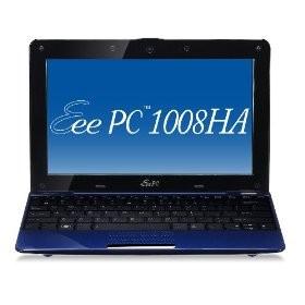 Eee 1008HA Pearl Blue Seashell 10.1 inch NetBook