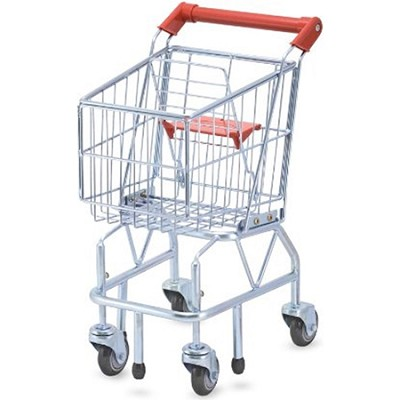Metal Grocery Wagon Shopping Cart