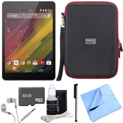 8 G2-1411 16 GB 8-Inch Tablet 32GB Micro SD Memory Card Bundle